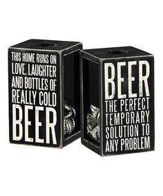 Another great find on #zulily! Tall 'Beer' Cork & Cap Holder by Primitives by Kathy #zulilyfinds