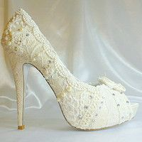 Lacey Ivory shoes