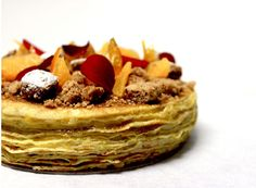 The fabulous crêpes cake by Thoumieux