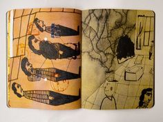Diary Book, Altered Book Art, Artist Sketchbook, Sketch Notes, Mind Journal, Journal Art, Art Journals, Paper Book, Scrapbook Journal
