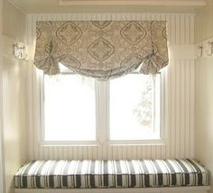 """DrapeStyle - The Custom Drapes House and Garden Called """"Beautifully Made to Order"""" Patterned Roman Shades, Custom Roman Shades, Diy Roman Shades, Custom Windows, Custom Curtains, Burlap Curtains, Door Curtains, Balloon Curtains, Relaxed Roman Shade"""