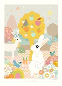Majvillan Poster Little Light