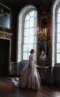 A painting by artist Rob Hefferan. The photorealistic work of the English painter is astounding both in its realism and the intricate details captured in each frame.