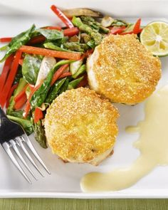 """See the """"Crab Cakes """"Repast-Style"""""""" in our Seafood Recipes for Entertaining gallery"""
