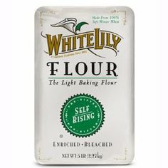 I love well-crafted flour packaging.