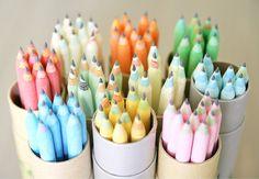 Pretty pastel pencils