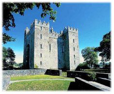 Bunratty Castle - Ireland - visited here with my mom in 2004.  This is one of our ancestral castles of the O'Brien Clan.