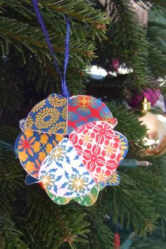 diy paper ornaments | DIY: My Paper Ornaments | Catch My Party