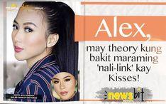 Alex, may theory kung bakit maraming 'nali-link' kay Kisses!   Star Cinema Kiss, Cinema, Books, Movies, Libros, Book, Book Illustrations, Kisses, Movie Theater