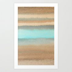 abstract watercolor  Art Print by Linnea Heide - $22.88