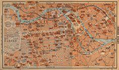 Berlin, Die Innere Stadt, 1910.