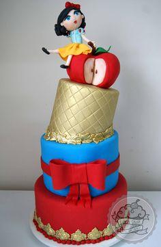 Snow White Cake / Bolo Branca de Neve