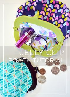 My 9 year old wants to make one of these sooo bad. Maybe I'll make up a sewing kit for her.  The step by step video tutorial seems so doable. Jelly Clip Pinnable