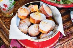 Katie Quinn Davies' lemon friands are quick to prepare and perfect for a backyard get-together with friends.
