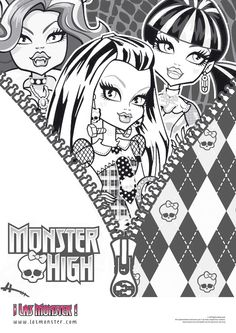 dibujo-chicas-monster-high