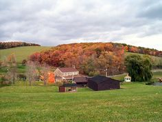 Shaffer Homestead Pennsylvania- - not mine but sure is pretty and I could definitely live there!