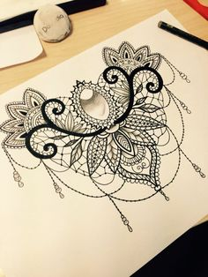 Image result for lace neck tattoo