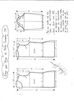 base blusa t54 tela elastica