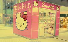 hello kitty shop - reminds me of Tollgate Mall when I was a little girl
