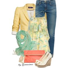 """Bring Your Own Spring!"" by curvacious on Polyvore"