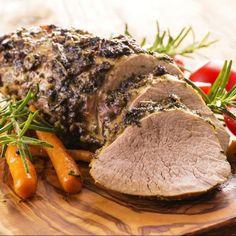 Carne mechada en olla a presión