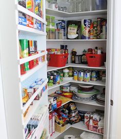 Build your own affordable pantry door organizer with some wood and a few basic tools. It's easier than you think and you'll love the extra storage! Pantry Door Organizer, Pantry Storage, Extra Storage, Basic Tools, Build Your Own, Door Knobs, Bookcase, Easy Diy, Shelves