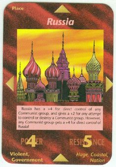 Illuminati card game - Russia