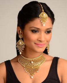 The Helen Necklace Set  by Nidhaan