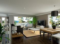 Sekisui House Australia Designs - Oran Open Plan Living