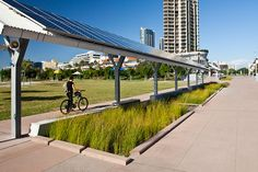 Southport Broadwater Parklands by AECOM Design and Planning 07 « Landscape Architecture Works Sustainable City, Sustainable Design, Urban Landscape, Landscape Design, Architecture Details, Landscape Architecture, Green Street, Water Management, Urban Design