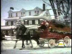 ▶ Budweiser Clydesdales Christmas commercial - YouTube