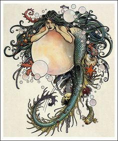 """William Stout """"Sea Fantasy"""" 1995 