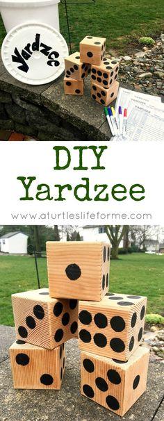 How to Make a DIY Yardzee Backyard Game