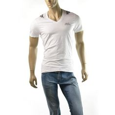 Armani Exchange T Shirt Men's A|X Hot Wings Print