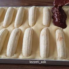 @efsane_mutfaklar @lezzeti_as My Recipes, Cake Recipes, Cooking Recipes, Magic Cook, Turkish Recipes, Ethnic Recipes, Chocolate Chip Banana Bread, Recipe Mix, Breakfast Items
