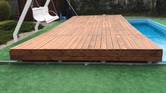 Mobile Pool Deck Terrace