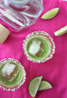 St Patrick's Day Inspired Melon Margarita Recipe!