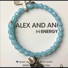 EASTER SUNDAY INSANITY- FREE ALEX & ANI BRACELET EASTER SUNDAY INSANITY! Easter Sunday Only! This Brand New Alex & Ani Blue Beaded Bohemian Russian Silver Bracelet is 100% FREE to the first Posher that purchased any ladies clothing item in my closet in the color LIGHT BLUE- $10.00 minimum purchase before shipping! $68.00 value, there will be a total of 25 different FREE jewelry items with purchase offers today so be on the look out & have fun! And yes you can bundle. MUST MESSAGE ME AFTER…