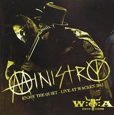 Enjoy the Quiet: Live at Wacken 2012 [Blu-ray] Ministry Band, Cool Album Covers, New Music Releases, Best Albums, Streaming Movies, Best Songs, Hard Rock, Movies To Watch, Movie Tv
