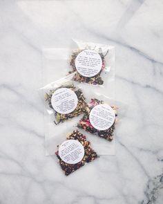 a new look for our tea sampler: plant based compostable packets + a glassine envelope Chai Tea Recipe, Tea Display, Organic Loose Leaf Tea, Jasmine Green Tea, Coffee Shop Bar, Glassine Envelopes, Tea Brands, Tea Packaging, Tea Tins