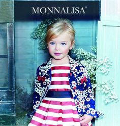 Monnalisa mixes sweet floral prints with nautical-inspired stripes for a darling collection for girls. New Theme, Ss 15, Floral Prints, Product Launch, Take That, Stripes, Children, Mini, Nautical