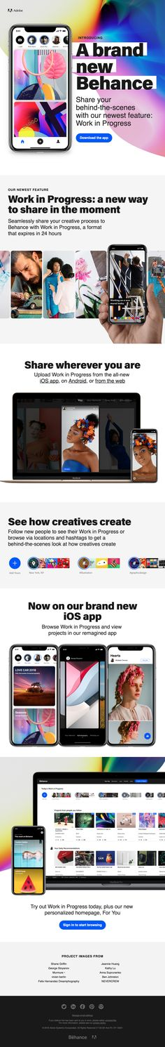 Behance Email - Say Hello! to a Brand New Behance Email Design, Say Hello, Real Life, Behance, Design Inspiration, Brand New, Sayings, News, Board