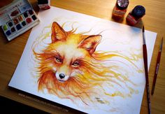 Wish I could draw and paint like that...