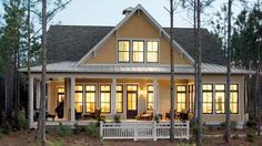 Cottage look AND a comfortable floor plan... Tucker Bayou, plan #1408