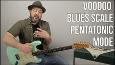 Voodo Blues Scale Guitar Lesson Guitar Chord Chart, Guitar Chords, Guitar Amp, Guitar Notes, Cigar Box Guitar, Pentatonic Scale Guitar, Voodoo Blue, Guitar Exercises, Blues Scale