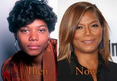Breast reduction was procedure of Queen Latifah plastic surgery. Nose job is just another rumor Plastic Surgery Photos, Celebrity Plastic Surgery, Celebrities Before And After, Celebrities Then And Now, Celebs Without Makeup, Veneers Teeth, Queen Latifah, Celebrity Wallpapers, Makeup Transformation