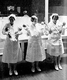 Baby Incubators- Premature babies were cared for by Dr. Clouney and his trained nurses. This was at a time when hospitals didn't have equipment to care for these infants.