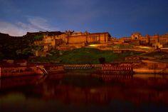 Amer Fort is in Himanshu's hometown of Jaipur, Rajasthan, India