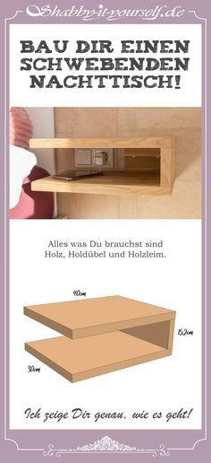 Bau Dir Einen Schwebenden Nachttisch So Geht S Nachttisch In