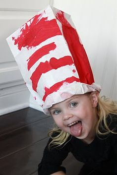 Dr. Seuss hat, Margaret said to pin this!